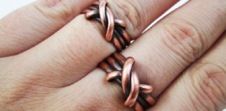 Copper Ring : Health Tips, Beauty Tips, Daily Health Tips, Top 10 Best Health Benefits, Easy To Follow Daily Health Tips | Copper Uses | Mens copper ring