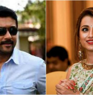 Trisha in the lines of Suriya : Trisha, Suriya, Kollywood, Tamil Cinema, Raangi, சினிமா செய்திகள், Cinema News, Kollywood , Tamil Cinema