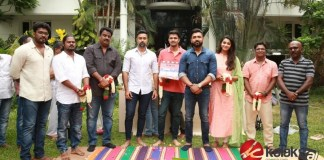 Mafia Movie Launch Stills | Arun Vijay, Priya Bhavani Shankar, Prasanna, Director Karthick Naren, Tamil Cinema News, Cinema New
