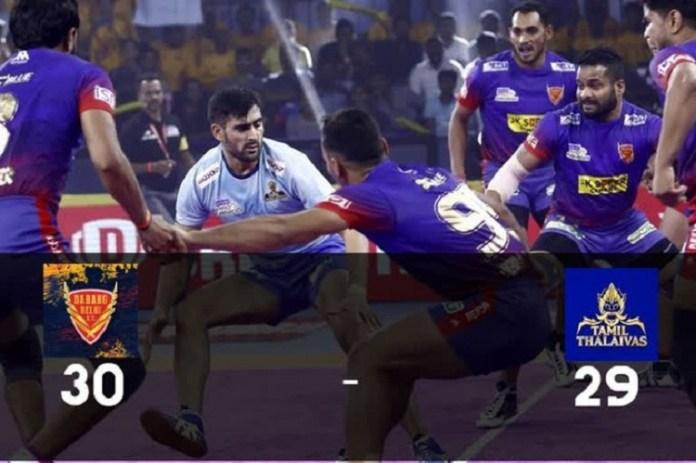 Dabang Delhi vs Tamil Thalaivas : Sports News, World Cup 2019, Latest Sports News, India, Sports, Latest Sports News, TNPL 2019, Pro Kabaddi League