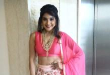 Actress Sakshi Agarwal Dance Performance Navratri Utsav 2019