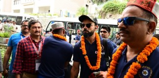 TeamIndia Arrive in Dharamsala : Sports News, World Cup 2019, Latest Sports News, India, Sports, Latest Sports News, Virat Kholi, Rohit Sharma
