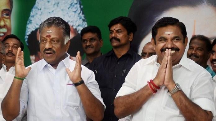 Edappadi Palanisamy and o.Paneer Selvam : Political News, Tamil nadu, Politics, BJP, DMK, ADMK, Latest Political News, Tamil nadu