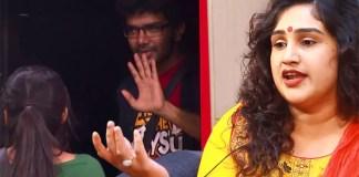 Vanitha's Comment : Bigg Boss, Bigg Boss Tamil, Bigg Boss 3 Tamil, Bigg Boss Promo Update, kamal Haasan, Reshma, Mugen Rao, Sandy, Sherin, Vanitha