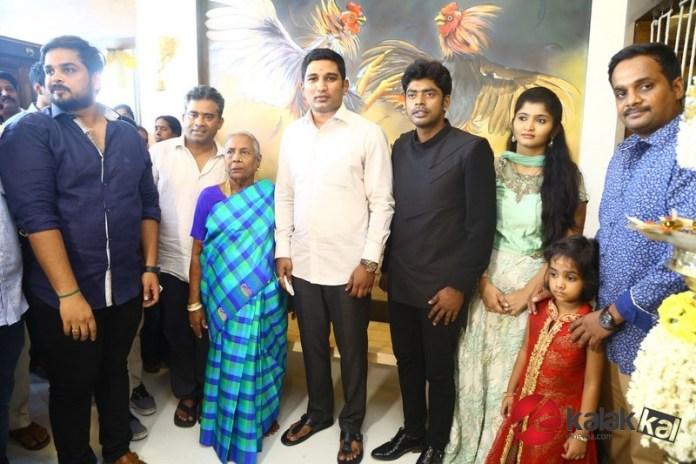 Big Boss Fame Sandy Master Inaugurate Pattukottai Kamatchi Mess Photos