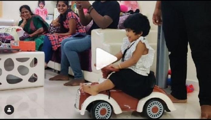 Kavin Play With Lala Baby   Sandy   Bigg Boss Tamil   Bigg Boss Tamil 3   Kollywood Cinema News   Tamil Cinema News   Tharshan Family with Sandy