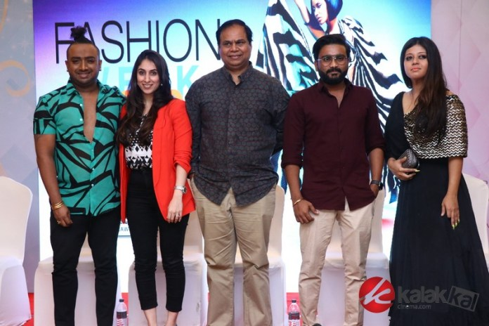 Prawlion Fashion Week Press Meet Stills