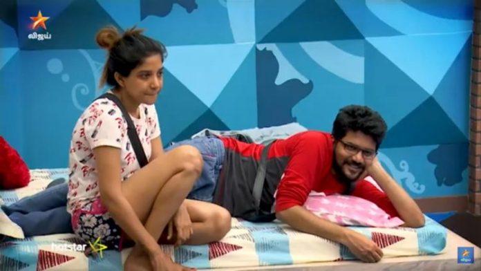 Bigg Boss Sakshi Agarwal Make Controversy | Bigg Boss tamil 3 | Kavin | Losliya | Sakshi Agarwal and Kavin | Kollywood Cinema News