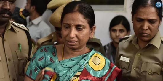 Nalini strike in Vellore jail