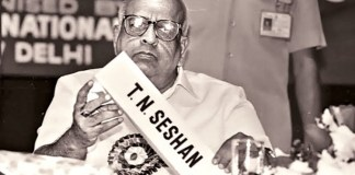 Former Election Commisioner Mr #TNSeshan no more