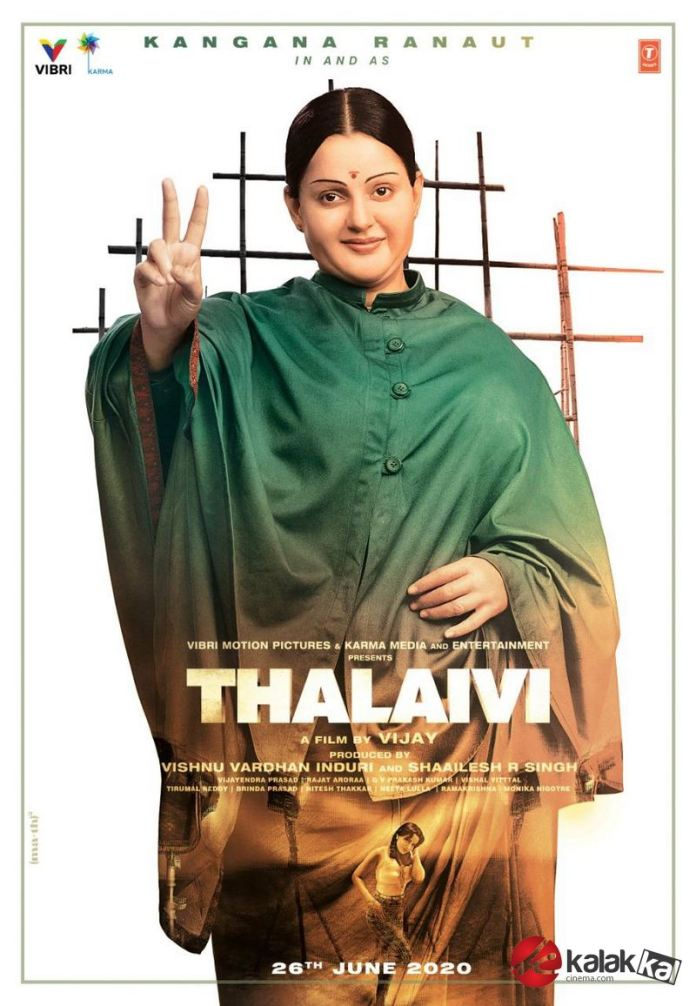 Thalaivi Movie First Look
