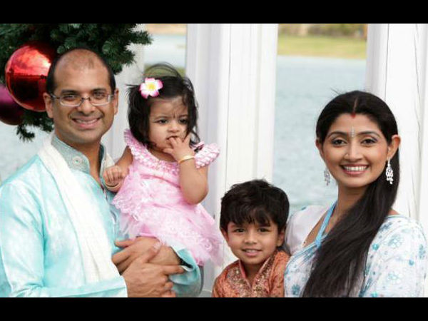 Divya Unni 1st Husband & Family