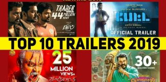 Top 10 Tamil Trailers 2019