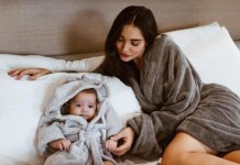 Amy Jackson Tik Tok With Baby