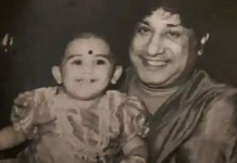 Vanitha Vijayakumar with Sivaji Ganesan