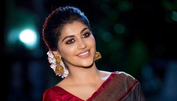Yashika Anand Saree Photo shoot