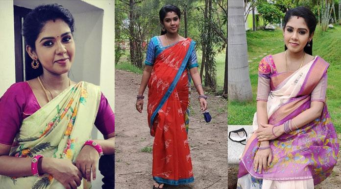 Pandian Stores Fame Actress Hema Rajkumar Latest Stills