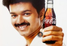 Vijay in Coke Ad