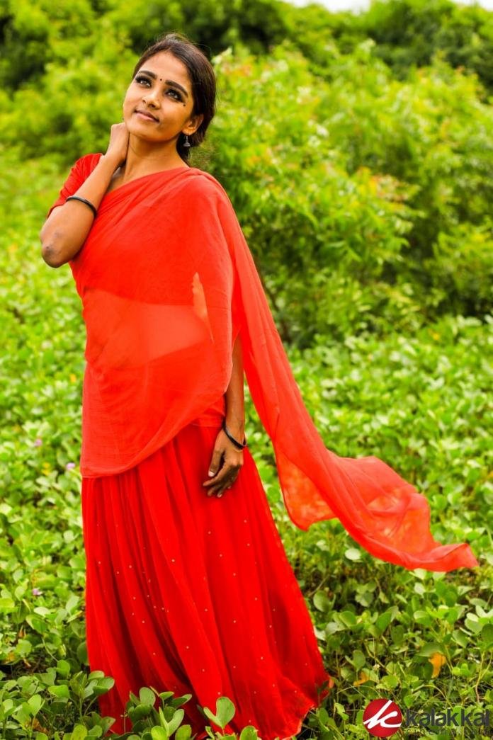 Actress Nimmy New Traditional Village Photoshoot Images