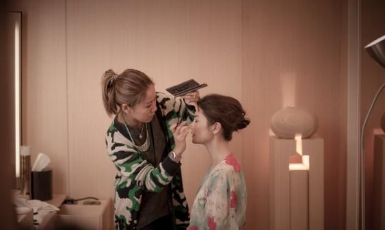 Kalamakeup wedding makeup and hair styling for Alexandra at Upper House