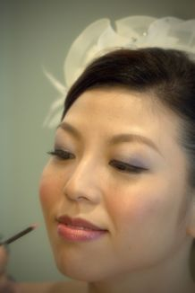 Kalamakeup wedding makeup and hair styling for bride Kathryn