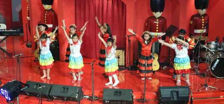 Kegiatan SKKK Jakarta mengisi acara Natal di Citraland Mall