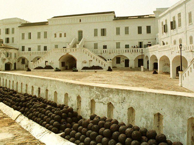 A slave fortress in Cape Coast, Ghana (AP Photo/Clement N'Taye)