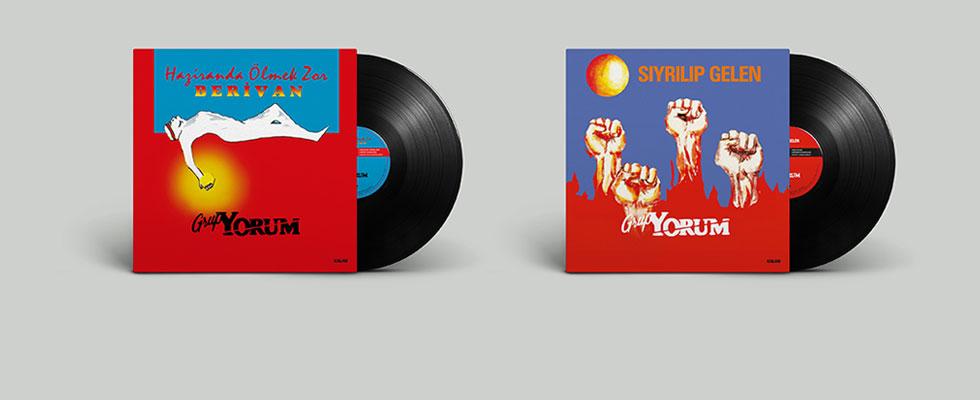 Grup YORUM efsanesi albümleri