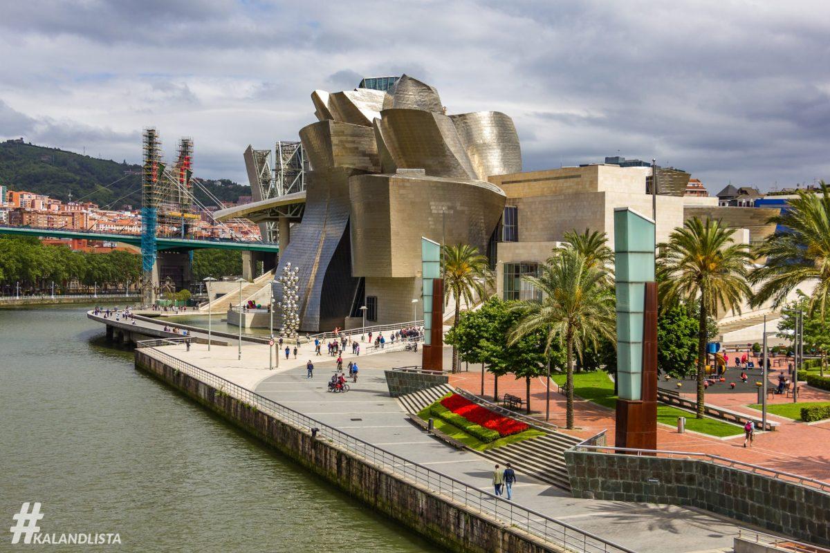 6 óra alatt megnézzük Bilbao-t és kész!