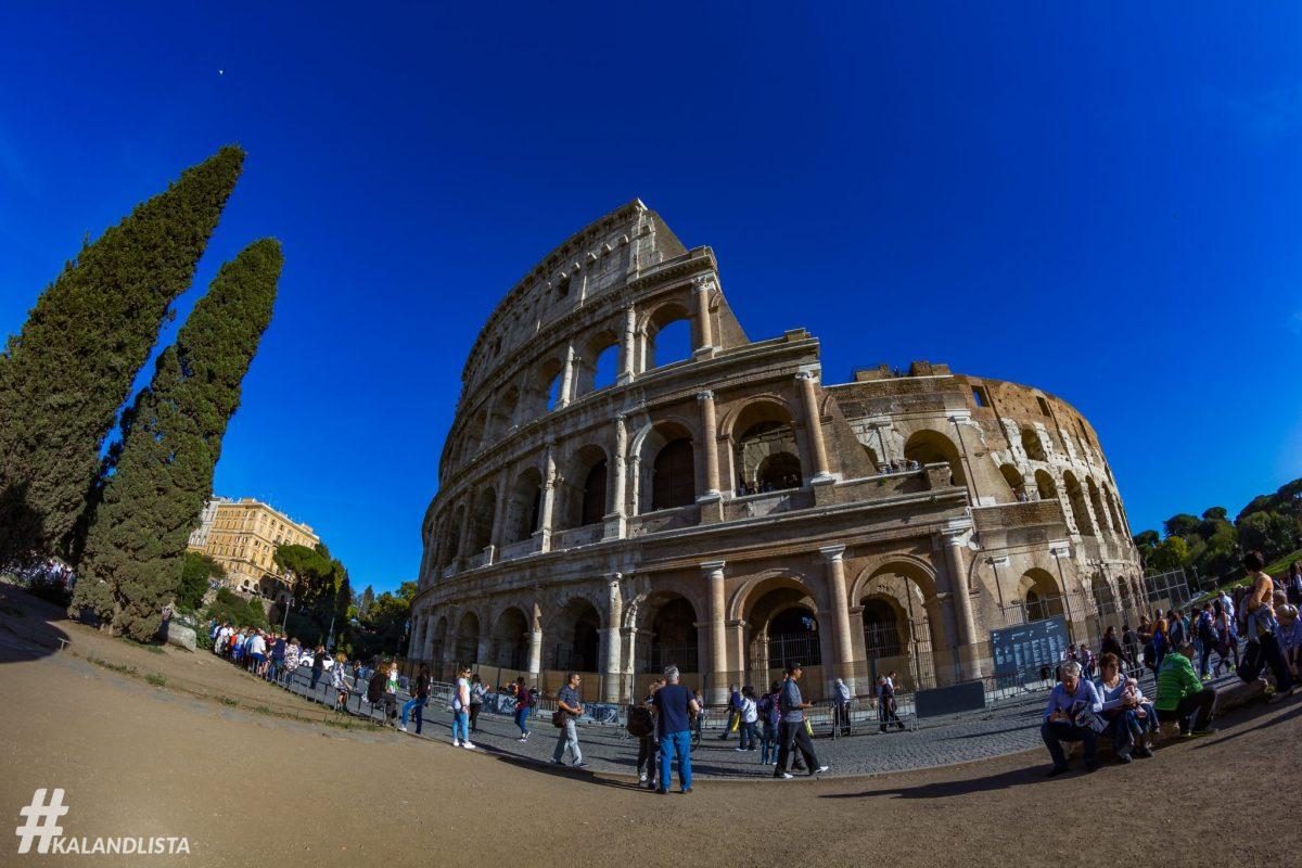 Városnézés Rómában - 2 nap, 2 útvonal