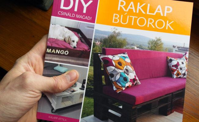 DIY raklap bútorok könyv