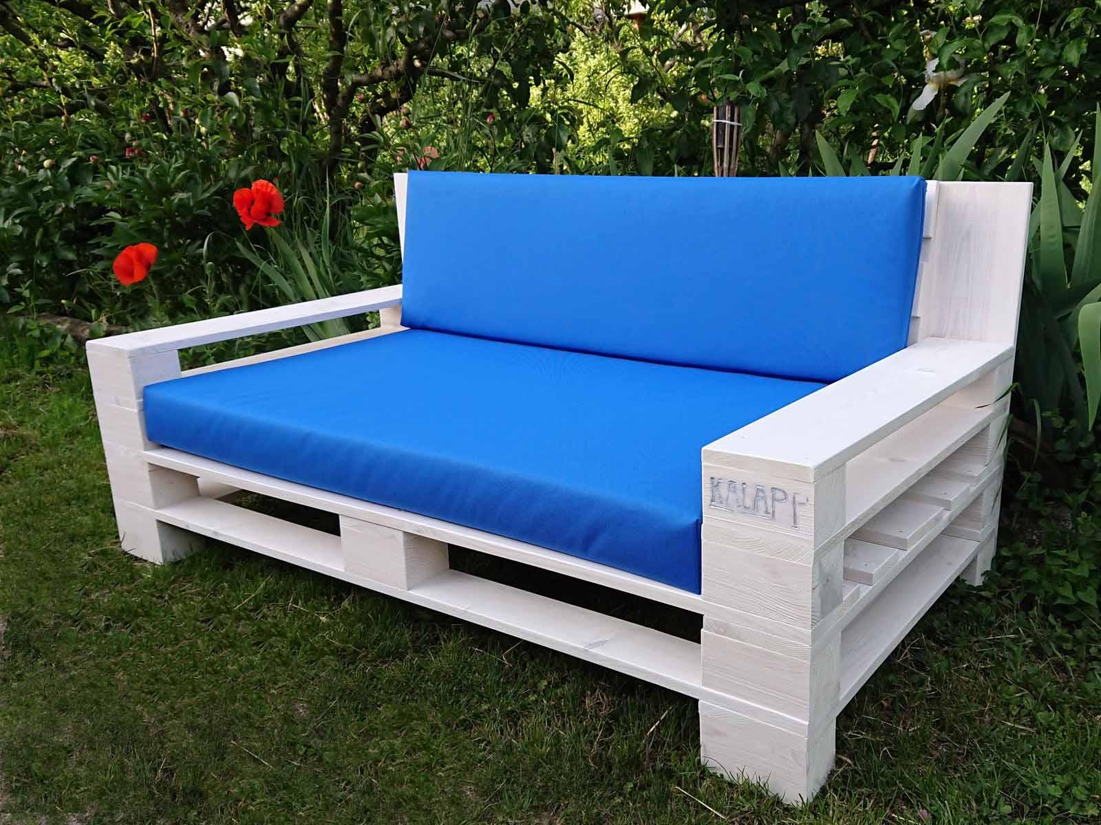 fehér raklap kanapé