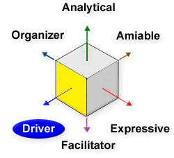 Driver, Analytical, Amiable, Expressive, Facilitator, Organizer