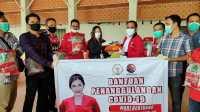 DPC PDI Perjuangan Sambas Ikut Salurkan Bantuan Maria Lestari
