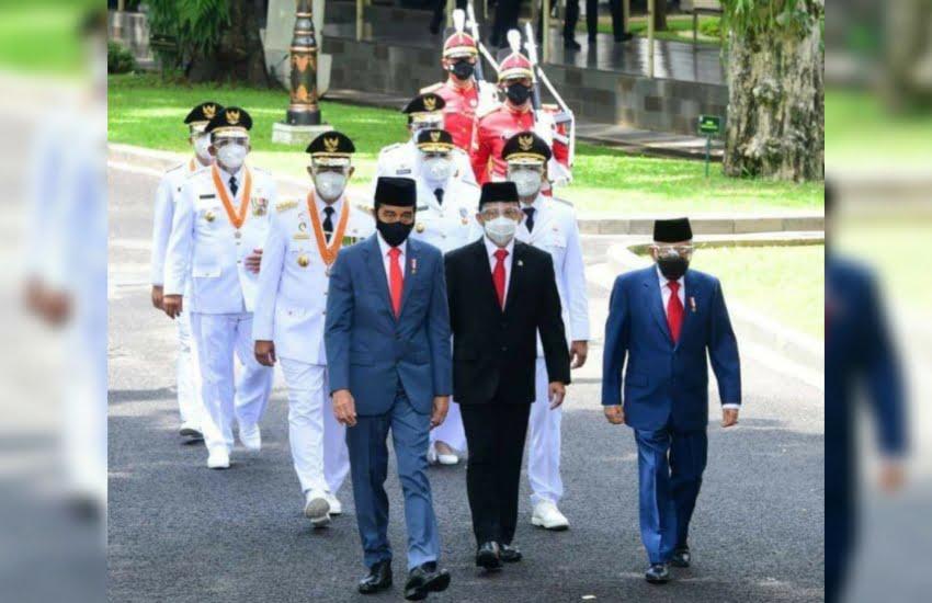 Presiden Jokowi Lantik Gubernur