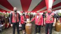Masyarakat Dayak di Landak Adakan Ritual Adat Naik Dango di Tengah Pandemi