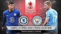 Nonton Gratis Live Chelsea VS Manchester City Live Streaming Piala FA Malam Ini, Pantau Live Score di Sini