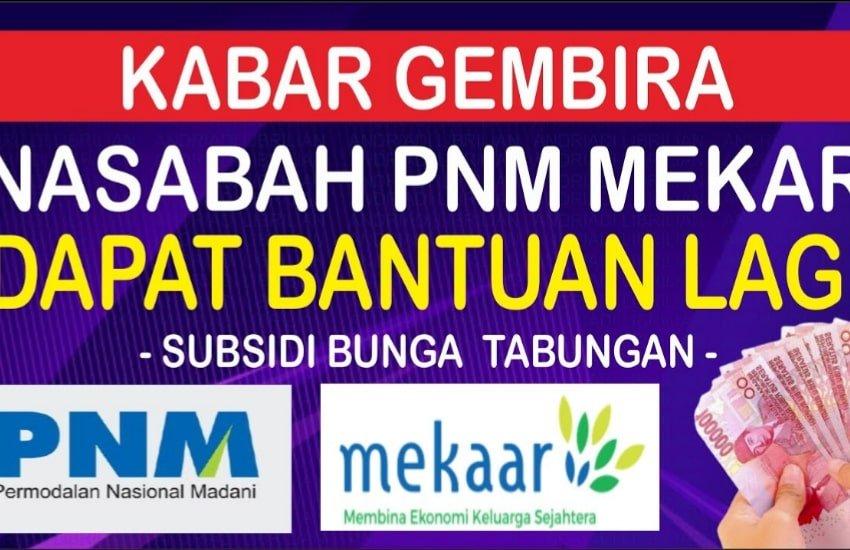 Cek BLT UMKM PNM Mekar BNI via e-form.bri.co.id dan banpresbpum.id serta Daftar Online Penerima Bantuan UMKM