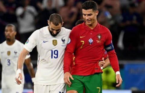 EURO Hasil Portugal vs Prancis: Ronaldo Dan Benzema Pemain Terbaik Euro 2021