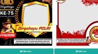 LINK DOWNLOAD TWIBBON Hari Bhayangkara 2021, Catat Sejarah Polri dan Peringatan HUT ke-75 Bhayangkara