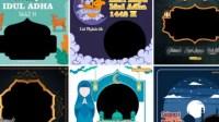 20 LINK Twibbon Download Twibbon Idul Adha 1442 Gratis-Bonus Kata kata Mutiara