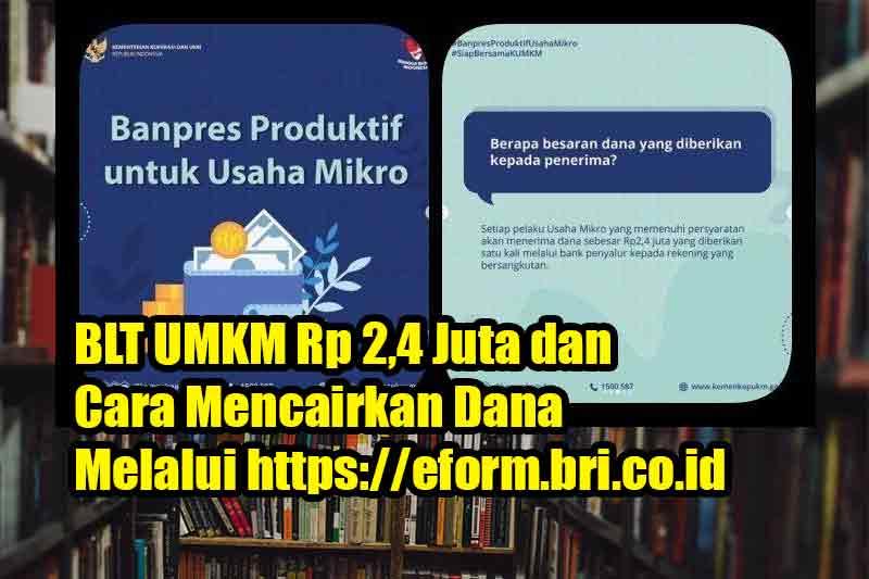 Link Cek Bantuan BPUM UMKM Rp1,2 Juta Login banpresbpum.id E-from BNI UMKM