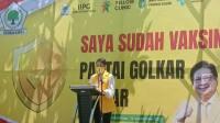 Launching Yellow Clinic Golkar Kalbar Adakan Vaksinasi, dr. Grace: Bantu Pemerintah Tangani Covid-19