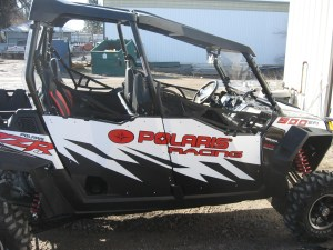 Graphics on Polaris Razor