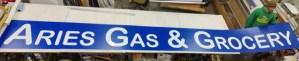 19ft long backlit sign