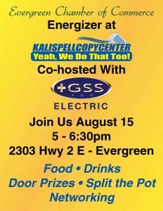 Kalispell Copy Center Aug 2019 Evergreen Energizer