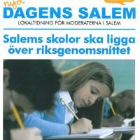 Salems lokaltidning, nu i en brevlåda nära dig