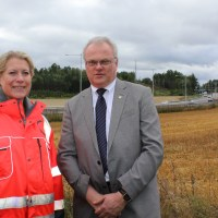 Lastbilsvåg, radar och fartskyltar till Södertälje