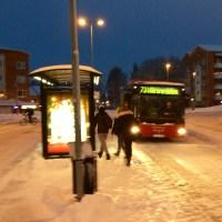 Nya bussturer i vintermörkret