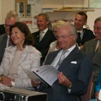 Ännu fler bilder från kungaparets besök